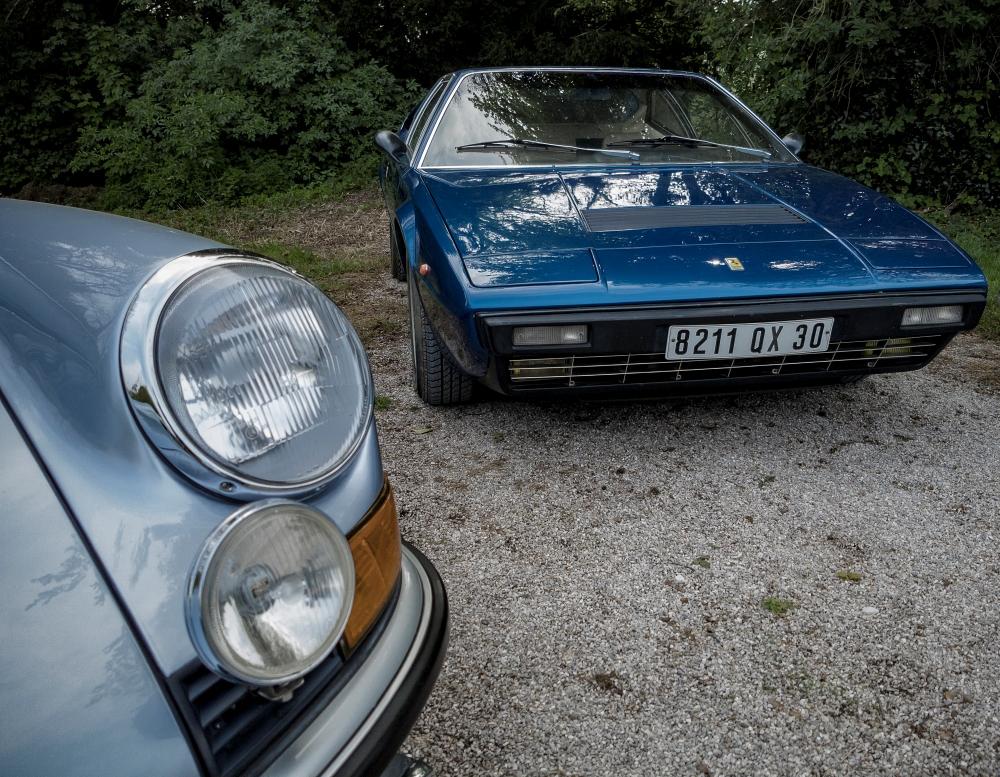 Porsche 911 ou Ferrari 308 GT4 Bertone - Belles autos, bons amis et bonne musique le 1er mai à Cassel