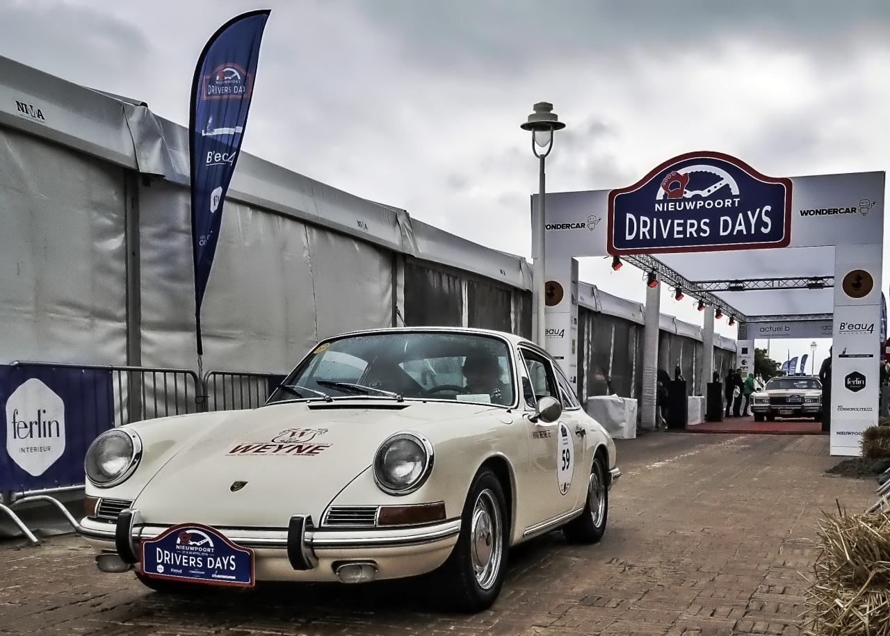 Porsche 912 aux départ des Drivers Days 2019