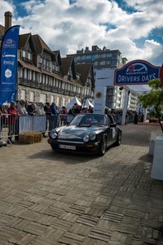 Porsche Carrera 3.0 Targa, arrivée du rallye