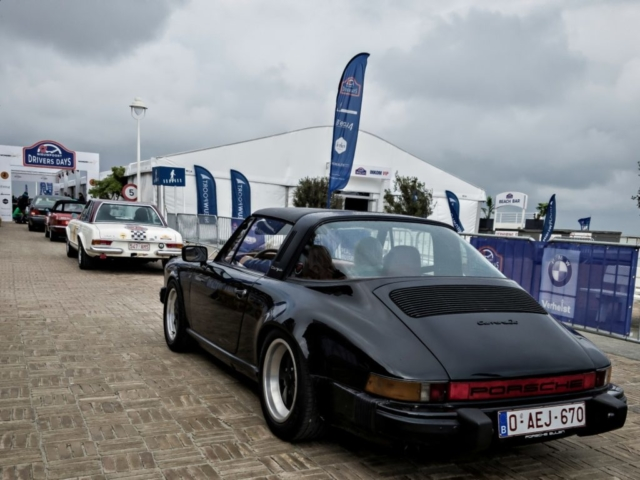 Porsche Carrera 3.0 targa, départ
