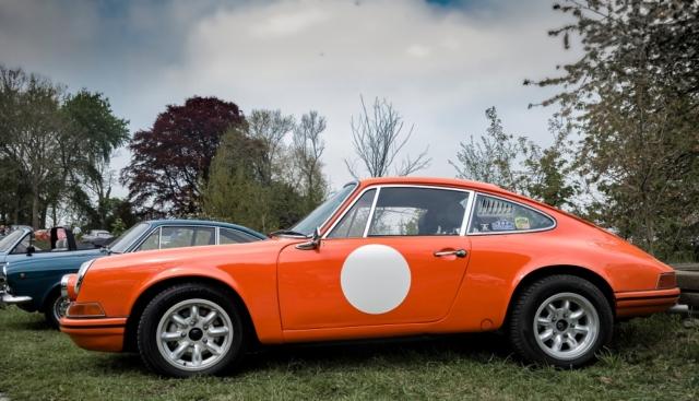 Porsche 911S - Belles autos, bons amis et bonne musique le 1er mai à Cassel