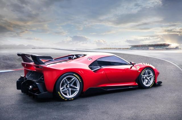 Prototipo Ferrari P80/C, le One-off naît pour la piste