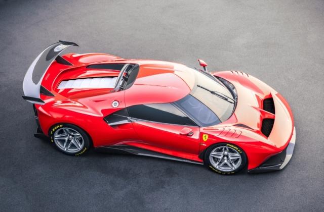 Prototipo Ferrari P80/C, unique et exclusive pour un usage circuit. Le One-off extrême.