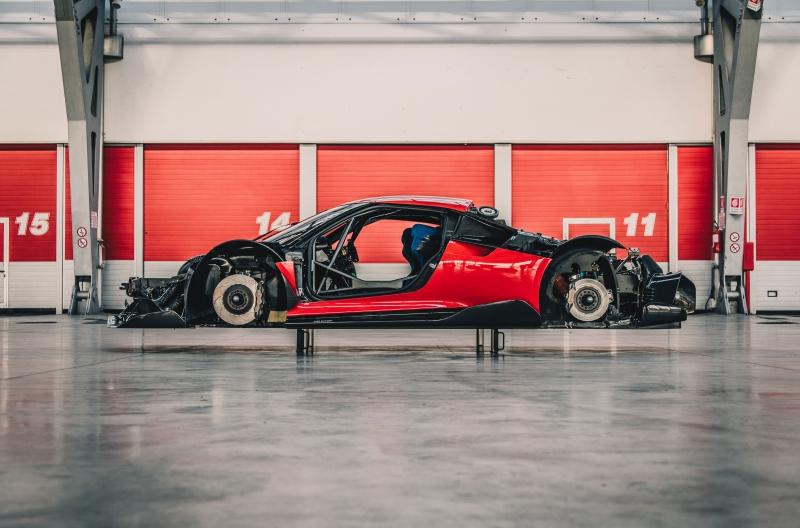 Prototipo Ferrari P80/C, WAHOU !