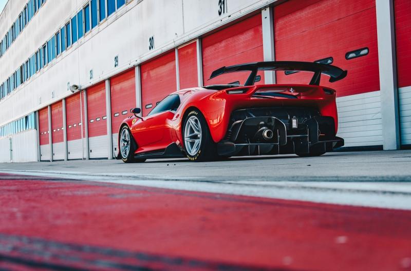 Prototipo Ferrari P80/C, ça c'est de l'appui aérodynamique !