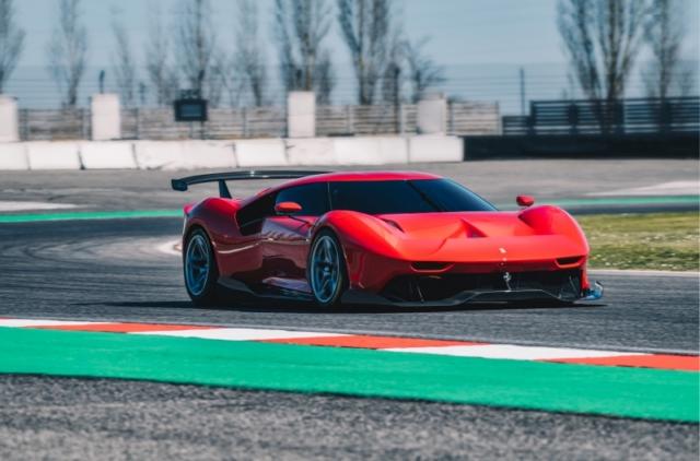 Prototipo Ferrari P80/C, une 488 GT3 pour modèle de base