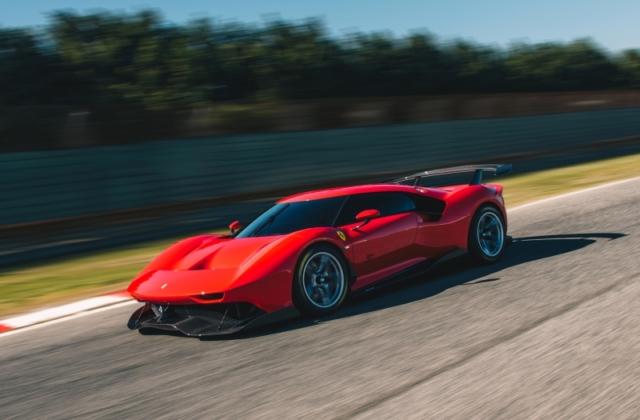 La Ferrari P80/C utilise du carbone et ça se voit