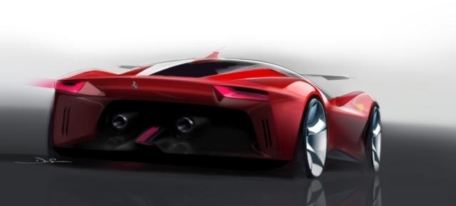 L'étude de style qui donnera naissance à la Ferrari Prototipo