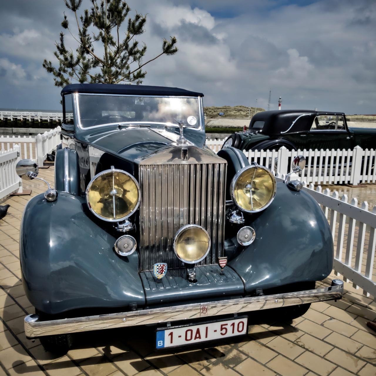 Rolls Royce concours élégance