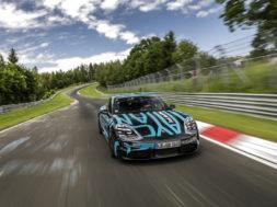 Porsche Taycan, le record sur le Nürburgring