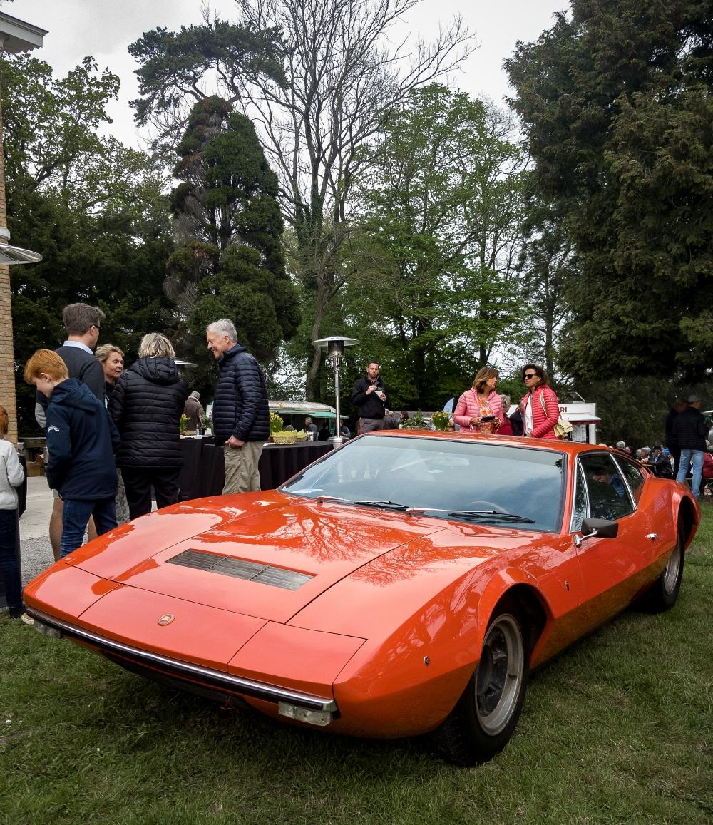 Serenissima Ghia GT, trois quart avant - Belles autos, bons amis et bonne musique le 1er mai à Cassel