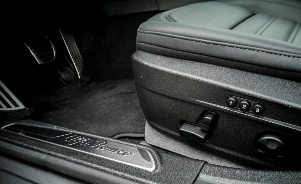 Sièges électriques à mémoire- Alfa Romeo Giulia, dame de coeur