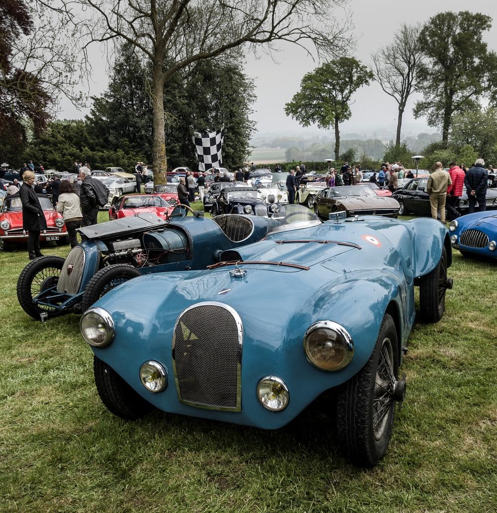 Talbot GS - Belles autos, bons amis et bonne musique le 1er mai à Cassel