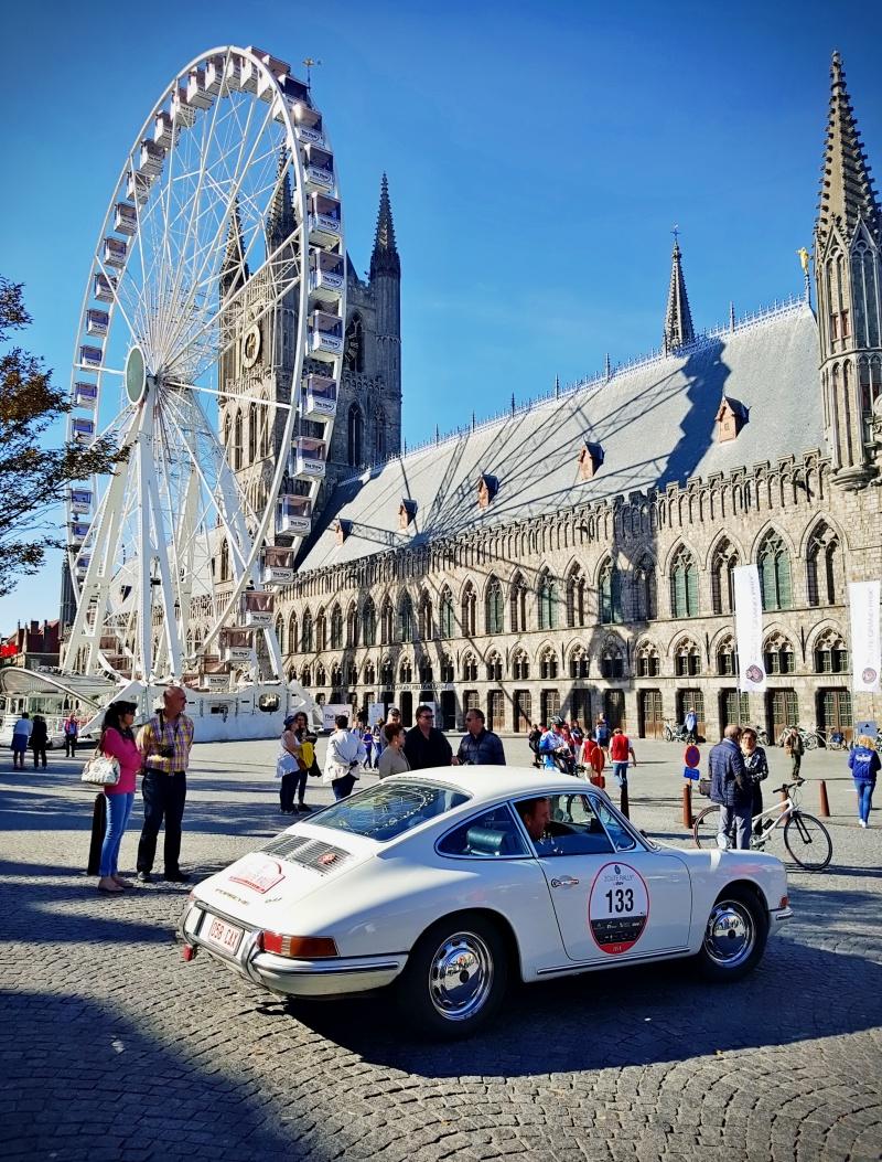 Zoute Grand Prix 2018 et grande roue à Ypres