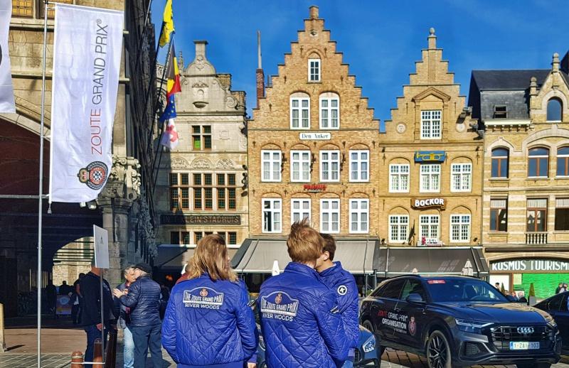 Zoute Grand Prix 2018 et le staff à Ypres