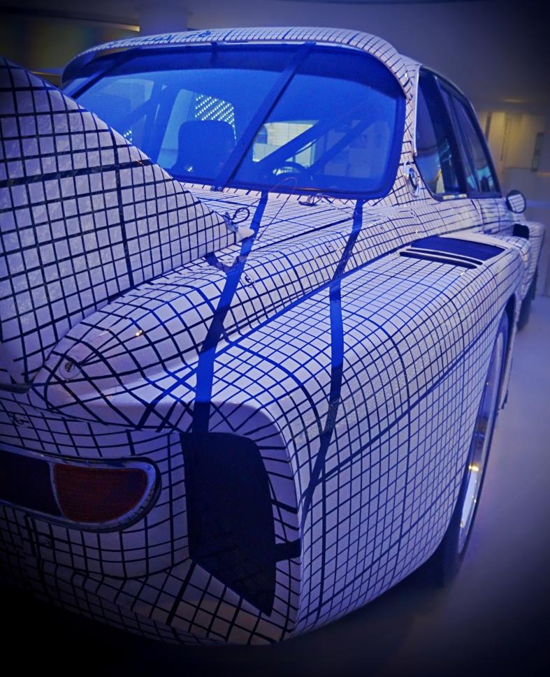 La BMW 3.0 CSL au millimètre de Frank Stella
