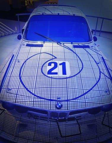 BMW 3.0 CSL de Frank Stella, la perfection de l'art