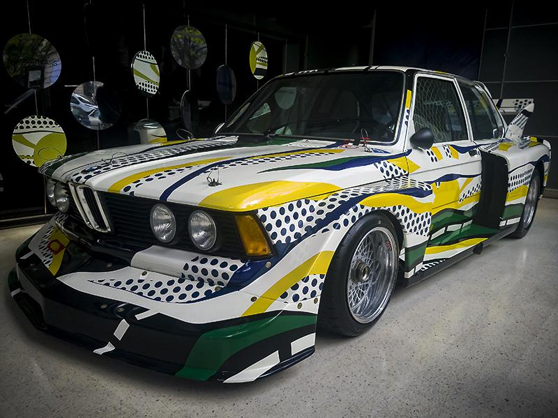 BMW 320i de Roy Lichtenstein, SHEBAM ! POW ! BLOP ! WIZZ !