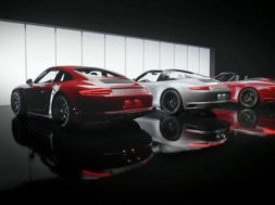 The new Porsche 911 GTS models.