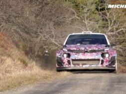Lefebvre Testing – 2017 WRC Rallye Monte-Carlo – Michelin Motorsport