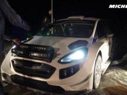 Ogier testing – 2017 WRC Rallye Monte-Carlo – Michelin Motorsport