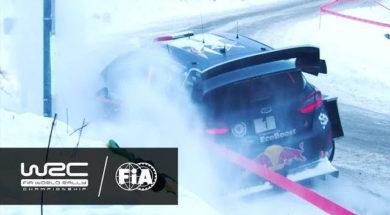 WRC – Rallye Monte-Carlo 2017: OGIER in ditch (SS3)