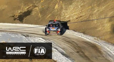 WRC – Rallye Monte-Carlo 2017: HIGHLIGHTS Stages 9-10