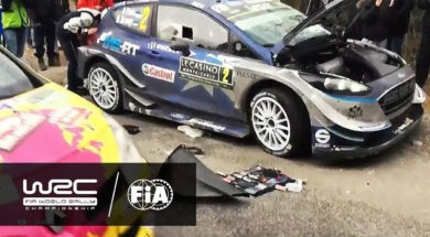 2017 WRC Rallye Monte-Carlo : temps forts des étapes 14/15