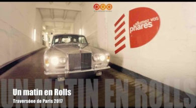 Rolls-Royce Silver Shadow 67 : Traversée de Paris 2017