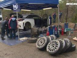 Neuville testing – 2017 WRC Rallye Monte-Carlo – Michelin Motorsport