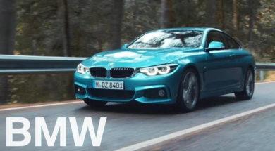 The new BMW 4 Series Coupé, Gran Coupé and Convertible.