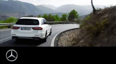 Mercedes-AMG E 63 4MATIC+ Estate – Trailer – Mercedes-Benz original