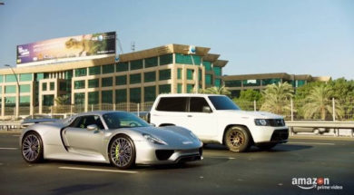 The Grand Tour: Porsche 918 vs. Nissan Patrol
