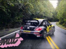 Racing a Rally Car on Public Roads in Portland, Oregon w/Tanner Foust | Donut Media