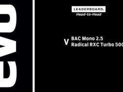 BAC Mono 2.5 v Radical RXC Turbo 500 | evo LEADERBOARD head to head
