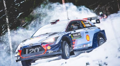 Top moment (Slow motion) – Day 2 – 2017 WRC Rally Sweden – Michelin Motorsport