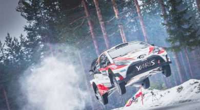 The Colin's Crest Jump – 2017 WRC Rally Sweden – Michelin Motorsport