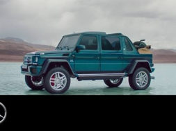 The new Mercedes-Maybach G 650 Landaulet –