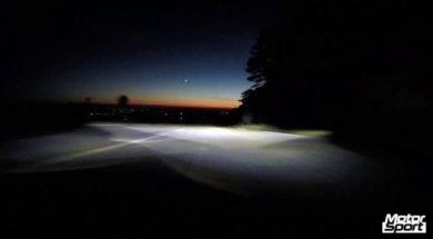 Lamborghini Huracan LP 580-2 night ride