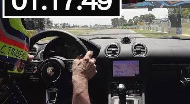 Supertest Porsche 718 Boxster S 2017