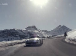 The Ferrari GTC4Lusso invades Courchevel