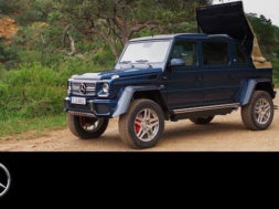 Mercedes-Maybach G 650 Landaulet in Africa – Mercedes-Benz original.