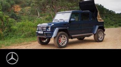 Mercedes-Maybach G 650 Landaulet in Africa – Mercedes-Benz original.
