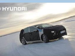 Essais hivernaux de la Hyundai i30 N par Thierry Neuville – Hyundai France