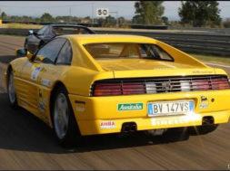 Pure sound Ferrari 348 Challenge – Davide Cironi Drive Experience.
