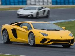 2017 Lamborghini Aventador S Australian launch – track lap at Phillip Island