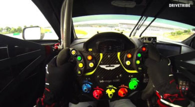 50 seconds of fury in the Aston Martin Vantage GTE race car