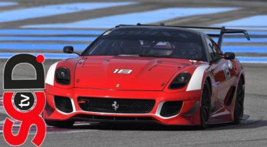 Ferrari 599XX EVO onboard   Paul Ricard