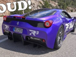 TUNNEL TERROR in this Ferrari 458 Speciale w/ Fi Exhaust!