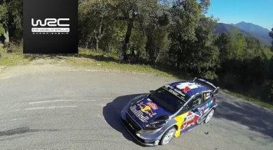 2017 WRC Tour de Corse : temps forts ES 9